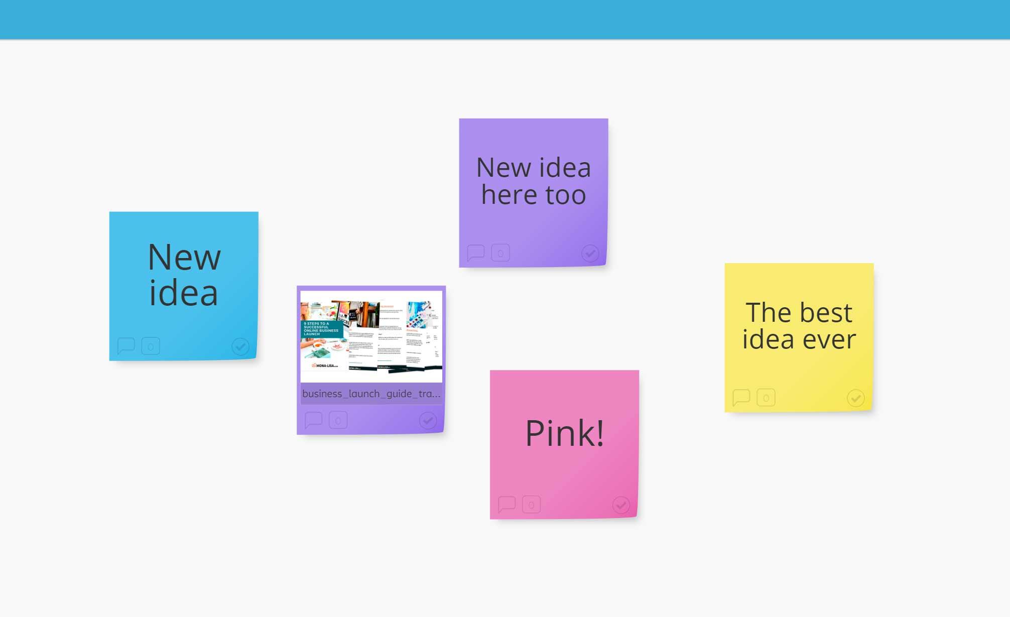 Stormboard brainstorming tool