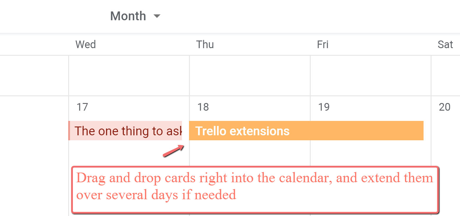 Planyway for Trello Chrome extension